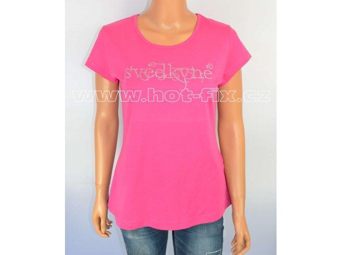 12 C Svědkyně tričko napředsvatební párty pro nevěstu a rozlučku se svobodou hot fix kamínky