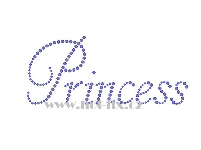 Princess nažehlovací potisk nažehlovací kamínkový aplikace na textil hot fix kameny