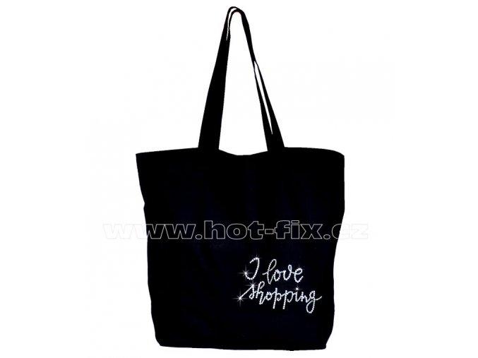 nákupní taška I love shopping