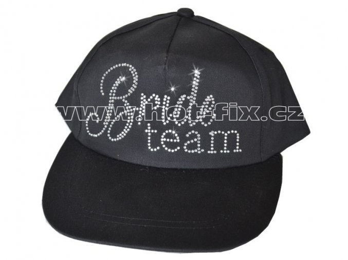Čepice Bride team černá– 1