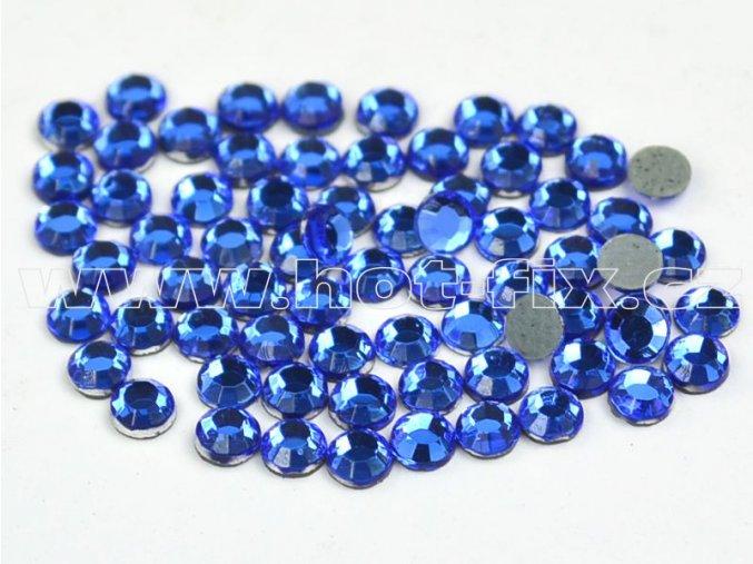 hot-fix kameny barva 117 Sapphire, velikost SS16, balení 144ks, 720ks, 1440ks