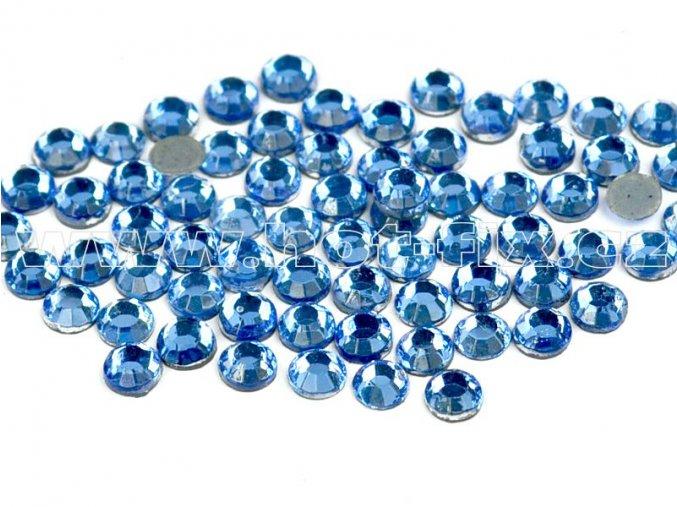 hot-fix kameny barva 118 Sapphire světlý, velikost SS16, balení 144ks, 720ks, 1440ks