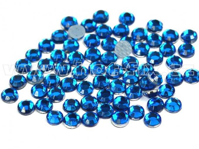 hot-fix kameny barva 119 Capri blue /modrý tyrkys, velikost SS16, balení 144ks, 720ks, 1440ks
