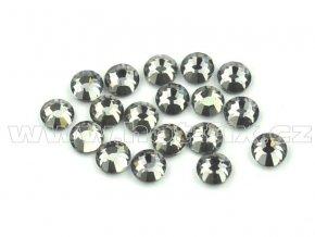 celobroušené hot-fix kameny Premium barva 126 Black diamond, velikost SS10, balení 144ks, 720ks nebo 1440ks