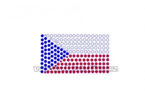 SX002 - státní vlajka ČR nažehlovací hot-fix kamínkový potisk na textil, rozměry cca 6,9x4,0cm