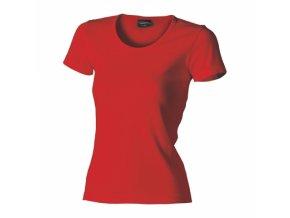 FT31 tričko dámské, 100% bavlna, gramáž 210g/m2, barva červená