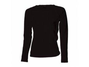 FT45 tričko dámské, dlouhý rukáv, barva černá