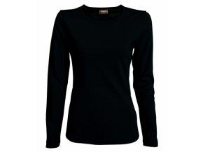 FT41 tričko dámské, dlouhý rukáv, barva černá