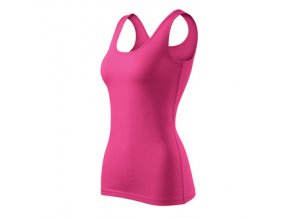 FT136 tílko dámské, 95% bavlna+5% elastan, gramáž 180g/m2, barva růžová purpur