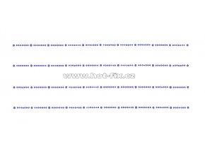 OP007-sada 4ks - nažehlovací kamínkový potisk na textil za zvýhodněnou cenu