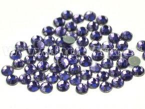 sada skleněných hot-fix kamenů 139 Tanzanite /fialková 4x144ks