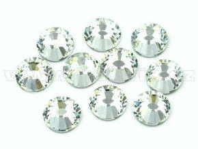 hot-fix celobroušené kameny Premium barva CBP/101 Crystal stříbrná, sada 4x144ks