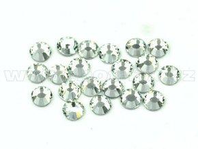 celobroušené hot-fix kameny Premium barva 101 Crystal, velikost SS10, balení 144ks, 720ks, 1440ks