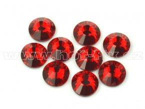 hot-fix celobroušené kameny Premium barva CBP/103 Siam červená, sada 4x144ks