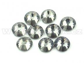 hot-fix celobroušené kameny Premium barva CBP/126 Black diamond /šedá, sada 4x144ks