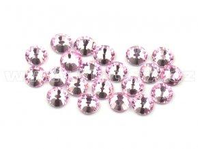 celobroušené hot-fix kameny Premium barva 105 Rose světlý, velikost SS10, balení 144ks, 720ks nebo 1440ks