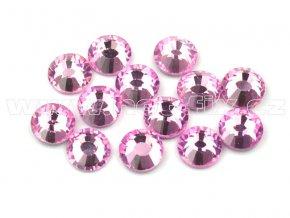 celobroušené hot-fix kameny Premium barva 105 Rose světlý, velikost SS16, balení 144ks, 720ks nebo 1440ks