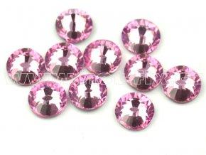 celobroušené hot-fix kameny Premium barva 105 Rose světlý, velikost SS20, balení 144ks, 720ks nebo 1440ks