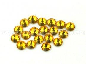 celobroušené hot-fix kameny Premium barva 109 Topaz, velikost SS10, balení 144ks, 720ks nebo 1440ks
