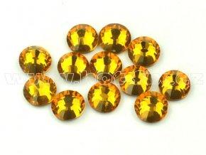 celobroušené hot-fix kameny Premium barva 109 Topaz, velikost SS16, balení 144ks, 720ks nebo 1440ks