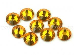 celobroušené hot-fix kameny Premium barva 109 Topaz, velikost SS20, balení 144ks, 720ks nebo 1440ks