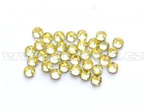 celobroušené hot-fix kameny Premium barva 111 Jonquil, velikost SS 6, balení 144ks, 720ks nebo 1440ks