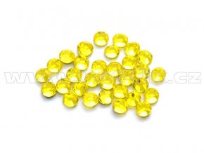 celobroušené hot-fix kameny Premium barva 112 Citrine, velikost SS 6, balení 144ks, 720ks nebo 1440ks