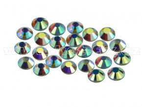 CBP 201 AB Crystal velikost SS10 hot fix kameny na textil celobroušené Premium 2