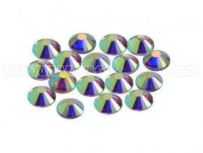 CBP 201 AB Crystal velikost SS16 hot fix kameny na textil celobroušené Premium 2