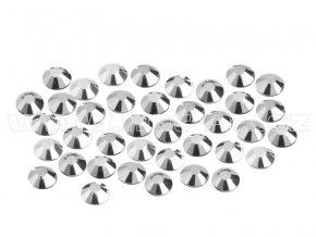 CBP 310 Silver Hematite velikost SS6 hot fix kameny na textil celobroušené Premium