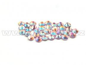 CBP 506 AB rose světlý velikost SS6 hot fix kameny na textil celobroušené Premium