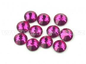celobroušené hot-fix kameny Premium barva 218 Fuchsia, velikost SS16, balení 144ks, 720ks nebo 1440ks