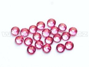 celobroušené hot-fix kameny Premium barva 106 Rose, velikost SS10, balení 144ks, 720ks nebo 1440ks