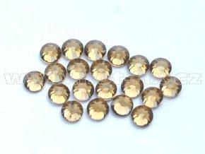 celobroušené hot-fix kameny Premium barva 107 Colorado Topaz, velikost SS10, balení 144ks, 720ks nebo 1440ks