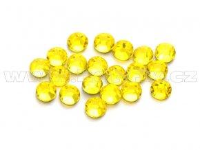 celobroušené hot-fix kameny Premium barva 112 Citrine, velikost SS10, balení 144ks, 720ks nebo 1440ks