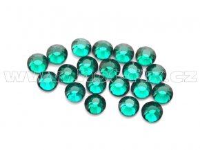 celobroušené hot-fix kameny Premium barva 115 Emerald, velikost SS10, balení 144ks, 720ks nebo 1440ks