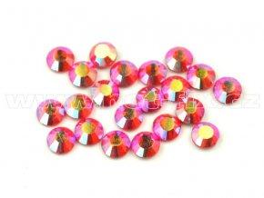 celobroušené hot-fix kameny Premium barva 503 AB Siam, velikost SS10, balení 144ks, 720ks nebo 1440ks