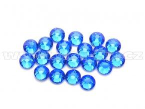 celobroušené hot-fix kameny Premium barva 117 Sapphire, velikost SS10, balení 144ks, 720ks nebo 1440ks
