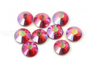 celobroušené hot-fix kameny Premium barva 503 AB Siam, velikost SS20, balení 144ks, 720ks nebo 1440ks