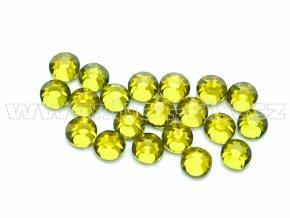 celobroušené hot-fix kameny Premium barva 134 Olivín, velikost SS10, balení 144ks, 720ks nebo 1440ks
