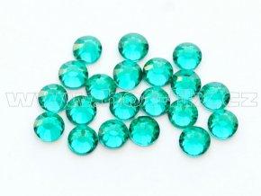 celobroušené hot-fix kameny Premium barva 140 Blue zircon, velikost SS10, balení 144ks, 720ks nebo 1440ks