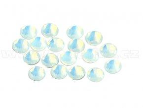CBP 200 White Opal velikost SS10 hot fix kameny na textil celobroušené Premium
