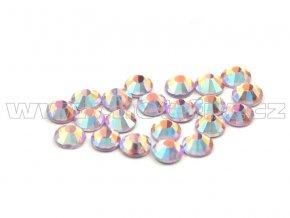 CBP 506 AB rose světlý velikost SS10 hot fix kameny na textil celobroušené Premium