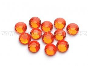 celobroušené hot-fix kameny Premium barva 104 Orange, velikost SS16, balení 144ks, 720ks nebo 1440ks