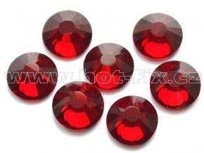 celobroušené hot-fix kameny Premium barva 102 Siam tmavý, velikost SS30, balení 144ks, 720ks nebo 1440ks