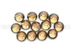 celobroušené hot-fix kameny Premium barva 107 Colorado Topaz, velikost SS16, balení 144ks, 720ks nebo 1440ks