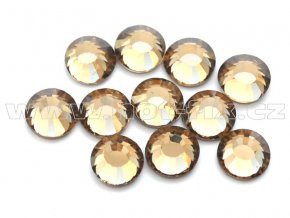 celobroušené hot-fix kameny Premium barva 107 Colorado Topaz, velikost SS20, balení 144ks, 720ks nebo 1440ks
