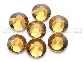 celobroušené hot-fix kameny Premium barva 107 Colorado Topaz, velikost SS30, balení 144ks, 720ks nebo 1440ks