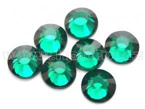 celobroušené hot-fix kameny Premium barva 115 Emerald, velikost SS30, balení 144ks, 720ks nebo 1440ks