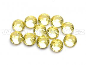 celobroušené hot-fix kameny Premium barva 111 Jonquil, velikost SS16, balení 144ks, 720ks nebo 1440ks